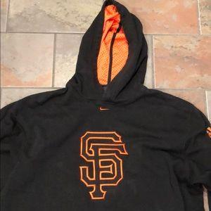 NIKE San Francisco Giants Hooded Sweatshirt